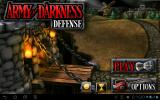Army of Darkness: Defense Android Main menu