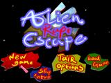 Alien Rape Escape Windows Title Screen and Main Menu