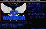 "Air Warrior Atari ST ""Title screen"""