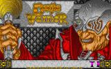 Castle Warrior Atari ST Title screen