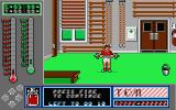 Gary Linekers Superskills Atari ST Starting weight lifting