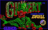 Gilbert: Escape from Drill Atari ST Title screen