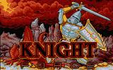 Knight Force Atari ST Title screen