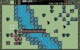 Shangrlia PC-98 Rural battle. Plenty of empty space, tactical possibilities...