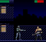 RoboCop Versus the Terminator Game Gear Robocop takes on boss