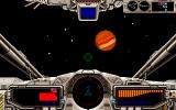 Star Cruiser II: The Odysseus Project PC-98 Flying through space