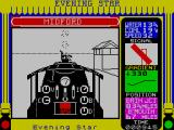 Evening Star ZX Spectrum Heading to a station