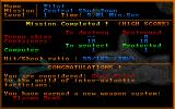 Star Quest I in the 27th Century DOS After successfully completing a mission, the player is awarded with a new rank and an equipment upgrade, which will be available in subsequent missions.