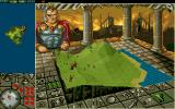 PowerMonger DOS Main Game Screen