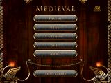 Medieval iPad Main menu