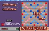 Scrabble: The Deluxe Computer Edition DOS Main Game Screen