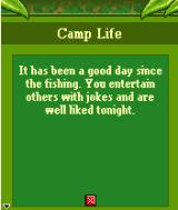 Survivor: Expedition Robinson J2ME Camp life goes on
