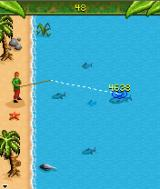 Survivor: Expedition Robinson J2ME Lure Fishing action - a contest of precision and speed
