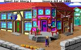 Hero's Quest: So You Want To Be A Hero DOS Entering the city