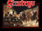 Stratego DOS Title Screen