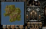 Realms DOS Main Game Screen