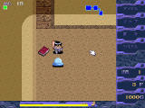 Desert Time: Mugen no Meikyū Windows You fight a slime. A useful book is nearby