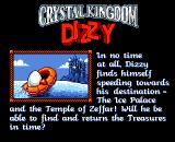 Crystal Kingdom Dizzy Amiga Moving on to the final level
