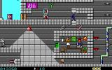 Secret Agent DOS Episode 2: the underground level of a fortress