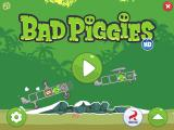 Bad Piggies Windows Interactive Main Menu, where you can interfere in the veichle (for example, make the TNT box blow)