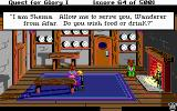 Hero's Quest: So You Want To Be A Hero DOS The inn