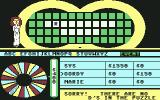 Wheel of Fortune Commodore 64 Sorry, Gordy, no D's in the puzzle
