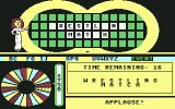 Wheel of Fortune Commodore 64 The crowd goes wild