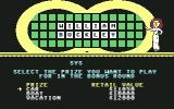 Wheel of Fortune Commodore 64 I believe I'll have the boat