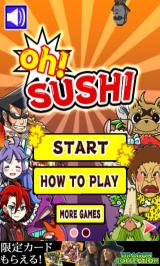 Oh!SUSHI Android Main menu