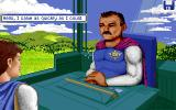 Captain Bible in Dome of Darkness DOS Animated intro (I)