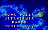 Puzza DOS Game menu