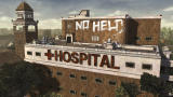 The Walking Dead Windows Episode 5 - There was a little accident on top of the hospital.