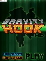 Gravity Hook HD iPad Main menu