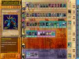 Yu-Gi-Oh! Power of Chaos: Yugi the Destiny Windows Construct your deck and side deck here.  You are able to easily see the number of spell/trap/monster cards you have