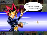 Yu-Gi-Oh! Power of Chaos: Yugi the Destiny Windows Yugi is performing a tribute summon