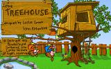 The Treehouse DOS Title Screen