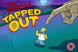 The Simpsons: Tapped Out iPhone Loading screen during Halloween