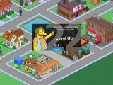 The Simpsons: Tapped Out iPad Sarcastic message when leveling up.