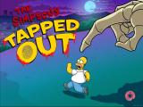 The Simpsons: Tapped Out iPad Loading screen during Halloween