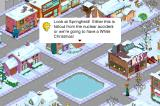 The Simpsons: Tapped Out iPhone Lisa's winter observations