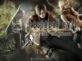 Resident Evil 4: Mobile Edition iPad Title screen