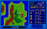 Zavas II: The Prophecy of Mehitae PC-98 On-foot world map navigation