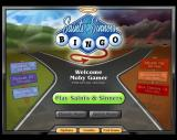 Saints & Sinners Bingo Windows The player must log in so that the game can keep track of an individual's progress
