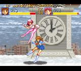 Seifuku Densetsu: Pretty Fighter SNES good attack
