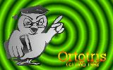 Ortotris DOS Title screen