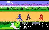 Ninja Golf Atari 7800 Enemy ninjas attack you in the sand traps