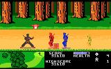 Ninja Golf Atari 7800 Running through the woods