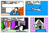 Accolade's Comics featuring Steve Keene Thrillseeker Apple II Off to Vienna in search of the Professor.