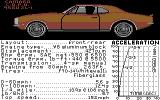 The Duel: Test Drive II Car Disk - The Muscle Cars Commodore 64 Camaro.
