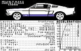 The Duel: Test Drive II Car Disk - The Muscle Cars Commodore 64 Mustang.